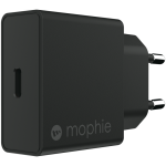mophie 18W USB-C PD lader, sort