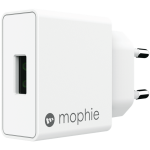 mophie 18W USB-A lader, hvid