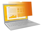 "3M Gold Privacy Filter for 13.3"" Laptop with COMPLY Attachment System notebook privacy filter"