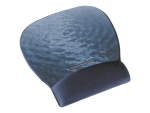 3M Precise Mousing Blue water - mouse pad with wrist pillow