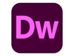 Adobe Dreamweaver CC for teams - Team Licencing Subscription Renewal (monthly) - 1 named user