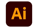 Adobe Illustrator CC for teams - Team Licencing Subscription Renewal (monthly) - 1 named user