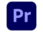 Adobe Premiere Pro CC for teams - Team Licencing Subscription Renewal (monthly) - 1 named user