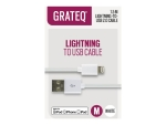 GRATEQ Lightning cable - 1.5 m