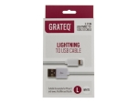 GRATEQ Lightning cable - 2.25 m