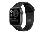 Apple Watch Nike Series 6 (GPS + Cellular) - space grey aluminium - smart watch with Nike sport band - anthracite/black - 32 GB - not specified