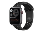 Apple Watch Nike SE (GPS + Cellular) - space grey aluminium - smart watch with Nike sport band - anthracite/black - 32 GB - not specified