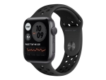 Apple Watch Nike Series 6 (GPS) - space grey aluminium - smart watch with Nike sport band - anthracite/black - 32 GB