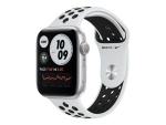 Apple Watch Nike Series 6 (GPS) - silver aluminium - smart watch with Nike sport band - pure platinum/black - 32 GB