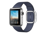 Apple Watch Series 2 - stainless steel - smart watch with modern buckle - midnight blue