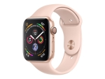 Apple Watch Series 4 (GPS) - gold aluminium - smart watch with sport band - pink sand - 16 GB