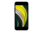 Apple iPhone SE (2nd generation) - black - 4G - 64 GB - GSM - smartphone
