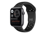 Apple Watch Nike SE (GPS) - space grey aluminium - smart watch with Nike sport band - anthracite/black - 32 GB