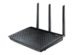 ASUS RT-AC66U - wireless router - 802.11a/b/g/n/ac - desktop, wall-mountable