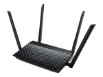 ASUS RT-N19 - wireless router - 802.11a/b/g/n - desktop