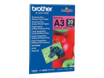 Brother Innobella Premium Plus BP71GA3 - photo paper - 20 sheet(s) - A3 - 260 g/m²