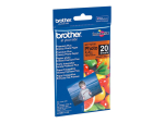 Brother BP - photo paper - 20 sheet(s) - 100 x 150 mm
