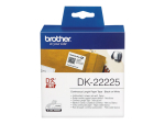 Brother DK-22225 - continuous labels - 1 roll(s) - Roll (3.8 cm x 30.5 m)