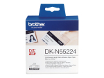 Brother DKN55224 - tape - 1 roll(s) - Roll (5.4 cm x 30.5 m)