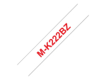 Brother M-K222BZ - tape - 1 roll(s) - Roll (0.9 cm x 8 m)