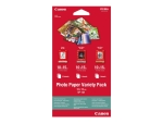 Canon Variety Pack VP-101 - photo paper kit - 15 sheet(s) - 100 x 150 mm
