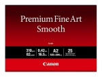 Canon Premium Fine Art Smooth FA-SM1 - photo paper - smooth - 25 sheet(s) - A2 - 310 g/m²