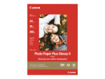 Canon Photo Paper Plus Glossy II PP-201 - photo paper - 20 sheet(s) - 130 x 130 mm - 265 g/m²
