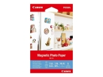 Canon Magnetic Photo Paper MG-101 - magnetic photo paper - 5 sheet(s) - 100 x 150 mm - 670 g/m²