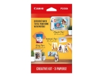 Canon Creative Kit - photo paper - 60 sheet(s) - 100 x 150 mm