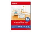 Canon MP-101D - photo paper - 20 sheet(s) - 177.8 x 254 mm - 240 g/m²