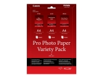 Canon Pro Variety Pack PVP-201 - photo paper kit - 15 sheet(s) - A4
