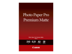 Canon Pro Premium PM-101 - photo paper - 20 sheet(s) - A3 - 210 g/m²