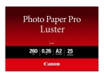 Canon Photo Paper Pro Luster LU-101 - photo paper - luster - 25 sheet(s) - A2 - 260 g/m²