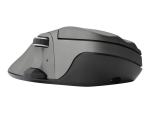 Contour Mouse Wireless Medium - mouse - 2.4 GHz - metal grey