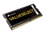 CORSAIR Value Select - DDR4 - module - 4 GB - SO-DIMM 260-pin - unbuffered
