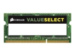 CORSAIR Value Select - DDR3 - 8 GB - SO-DIMM 204-pin - unbuffered