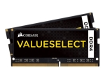 CORSAIR Value Select - DDR4 - kit - 8 GB: 2 x 4 GB - SO-DIMM 260-pin - unbuffered