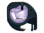 DYMO LetraTAG - tape - 1 roll(s) - Roll (1.2 cm x 4 m)