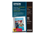 Epson Premium Semigloss Photo Paper - photo paper - 50 sheet(s) - 100 x 150 mm - 251 g/m²