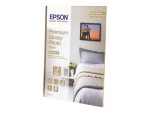 Epson Premium Glossy Photo Paper - photo paper - 30 sheet(s) - 130 x 180 mm - 255 g/m²