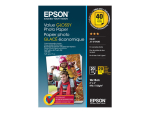 Epson Value Photo Paper Glossy - photo paper - 20 sheet(s) - 100 x 150 mm (pack of 2)