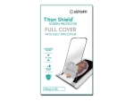 "eSTUFF Titan Shield Fullcover - Screen protector for mobile phone - 5.8"" - black, transparent - for Apple iPhone 11 Pro"