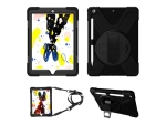 "eSTUFF Defender Case - Back cover for tablet - silicone, polycarbonate - black - 10.2"" - for Apple 10.2-inch iPad (7th generation)"