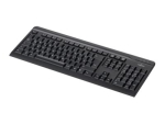 Fujitsu KB410 - keyboard - German - black
