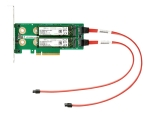 HPE Universal SATA HHHL M.2 Kit - interface adapter - M.2 Card - PCIe