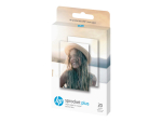 HP ZINK Sticky-Backed - photo paper - 20 sheet(s) - 58 x 87 mm - 258 g/m²
