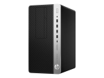 HP EliteDesk 705 G4 - micro tower - Ryzen 5 Pro 2400G 3.6 GHz - 8 GB - SSD 256 GB