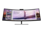 HP S430c - LED monitor - curved - 43.4""