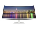 HP 34f - LED monitor - curved - 34""