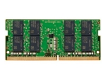 HP - DDR4 - module - 32 GB - SO-DIMM 260-pin - 2666 MHz / PC4-21300 - unbuffered